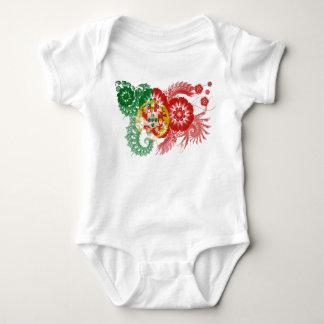 Portugal Flag Baby Bodysuit