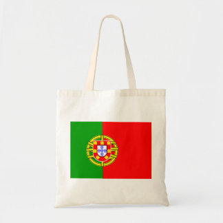 Portugal Flag Budget Tote Bag