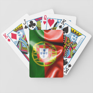 Portugal Flag Bicycle Playing Cards
