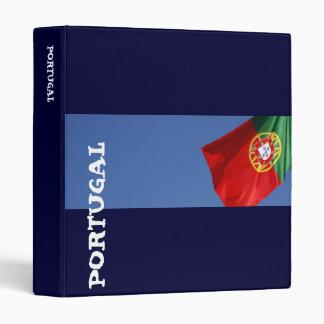 Portugal flag Binder