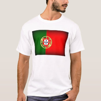 Portugal Flag Black Edge T-Shirt