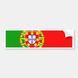 Portugal Flag Bumper Sticker
