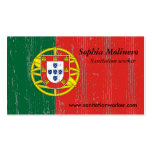 Portugal Flag Business Card