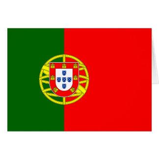 Portugal Flag Card