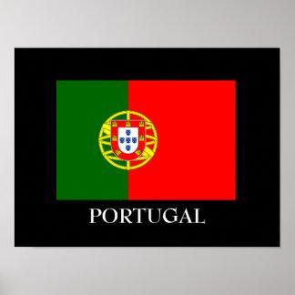 Portugal Flag Custom Poster
