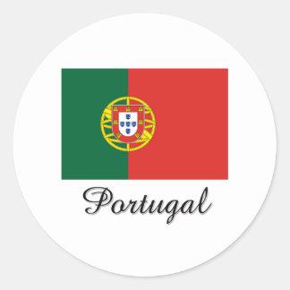 Portugal Flag Design Stickers