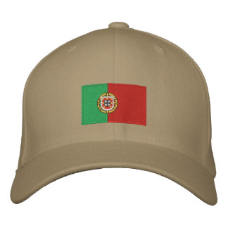 Portugal flag embroidered flexfit wool hat embroidered baseball cap