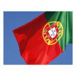 Portugal flag flyer design