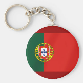 Portugal Flag for Portuguese speakers Keychain