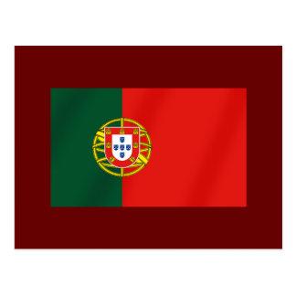 Portugal Flag for Portuguese speakers Postcard