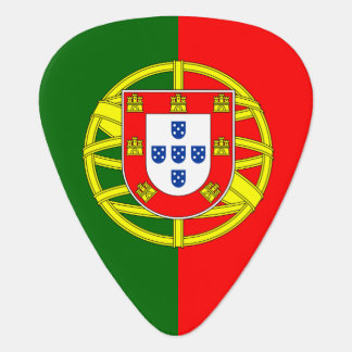 Portugal flag guitar pick for Portuguese musicians Guitar Pick