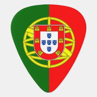 Portugal flag guitar pick for Portuguese musicians Guitar Pick