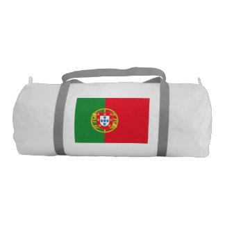 Portugal Flag Gym Duffel Bag