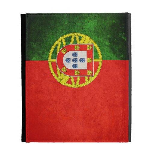 Portugal Flag; iPad Folio Cases