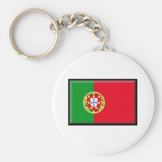 Portugal Flag Keychain