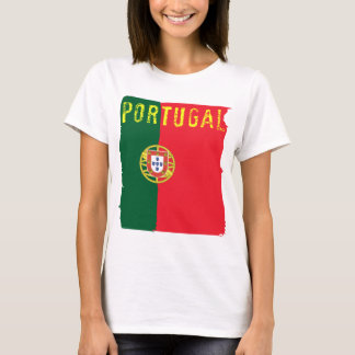 Portugal Flag Ladies Top