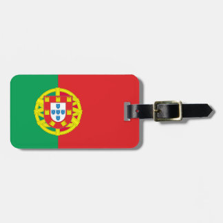 Portugal flag tags for luggage