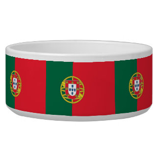 Portugal Flag Pet Bowl