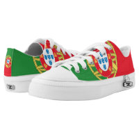Portugal Flag - Printed Shoes