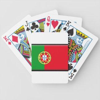 Portugal Flag Poker Deck