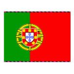 Portugal Flag Postcard