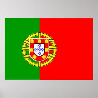 Portugal Flag Poster