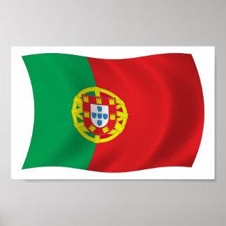Portugal Flag Poster Print