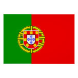 Portugal Flag Posters