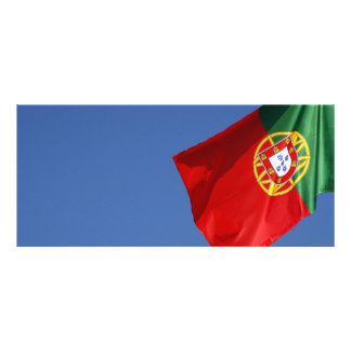 Portugal flag rack card