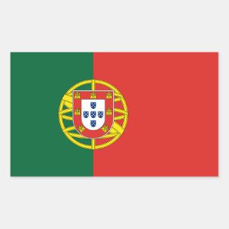 Portugal Flag Rectangular Sticker