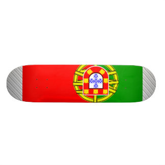 Portugal Flag Skateboard