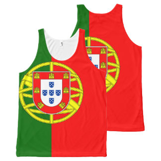 Portugal Flag Tank top