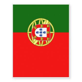 Portugal Temporary Tattoos  Zazzle