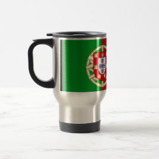 Portugal Flag Travel Mug