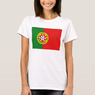Portugal Flag x Map T-Shirt