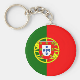 Portugal flage design keychain