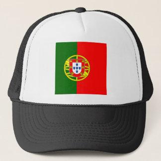 Portugal flage design trucker hat