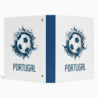 Portugal Football 3 Ring Binder