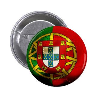 Portugal Football Button