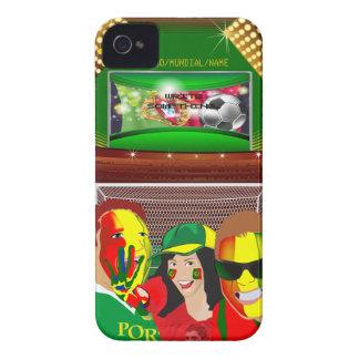Portugal Football Fan iPhone 4 Case