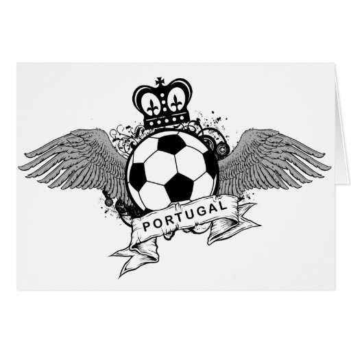 Portugal Football Greeting Cards