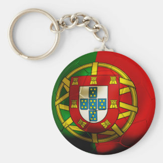Portugal Football Keychain