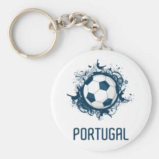 Portugal Football Keychain