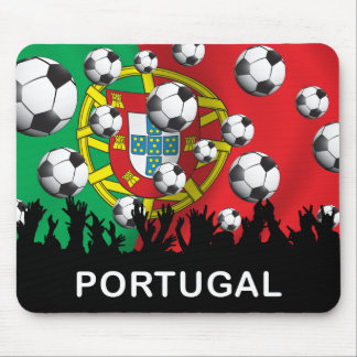 Portugal Football Mouse Pad