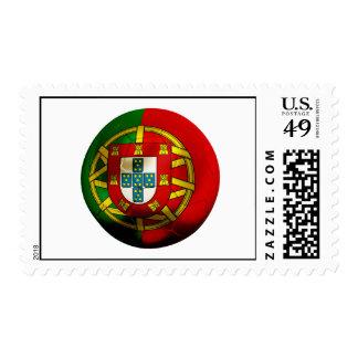 Portugal Football Postage Stamp