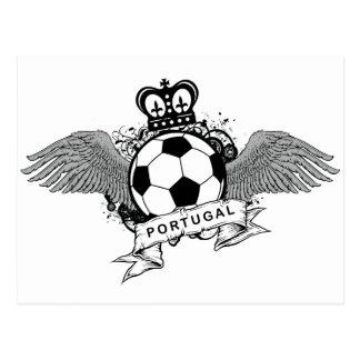 Portugal Football Postcard
