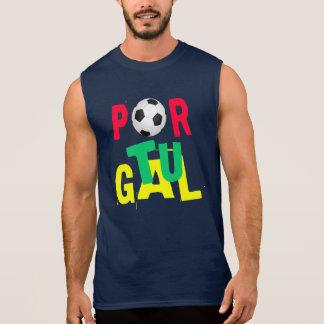 PORTUGAL FOOTBALL (SOCCER) Sleveless T-Shirt