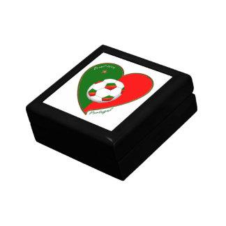 PORTUGAL Fútbol Portuguese Soccer Team 2014 Cajas De Recuerdo