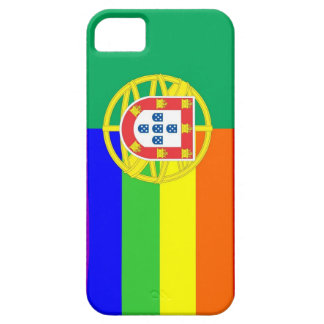 portugal gay proud rainbow flag homosexual iPhone SE/5/5s case