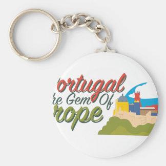 Portugal Gem Of Europe Keychain
